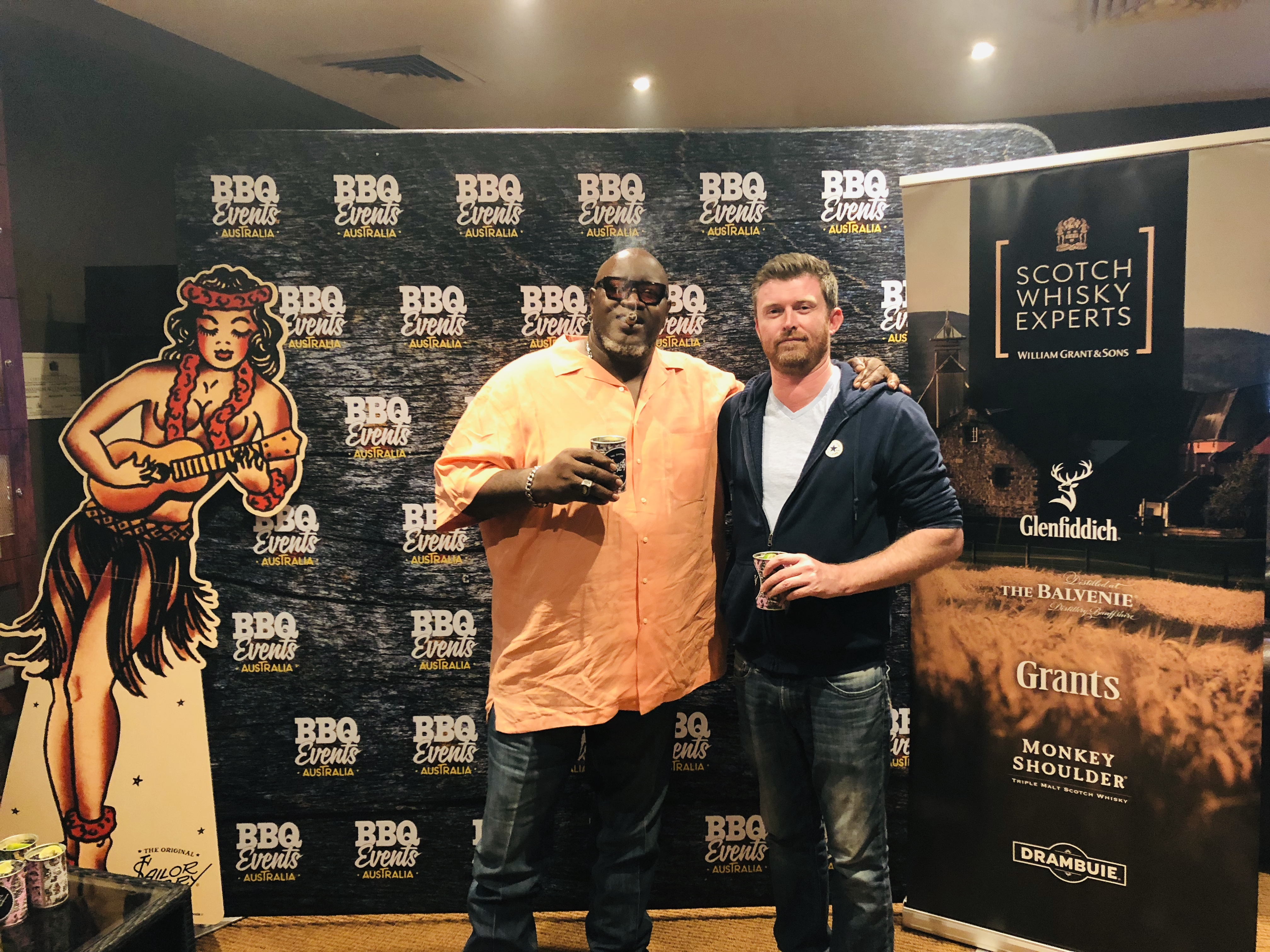 Big Moe's Rum, Whisky & Cigar Night